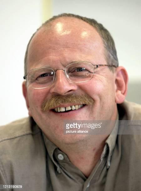 Klaus Franz neuer Gesamtbetriebsratsvorsitzender der Adam Opel AG und Konzernbetriebsrat aufgenommen am 2762000 bei einem Pressegespräch im OpelWerk...
