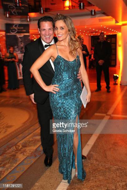 Klaus Gronewald and his wife Sandra Maria Gronewald during the German Sports Media Ball at Alte Oper on November 9 2019 in Frankfurt am Main Germany