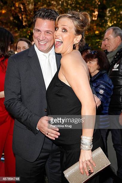 Klaus Gronewald and Sandra Maria Gronewald attend the ECHO Klassik 2014 on October 26 2014 in Munich Germany