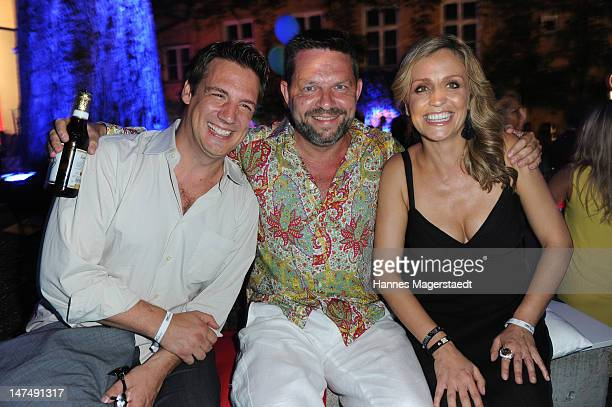 Klaus Gronewald Kai Blasberg and SandraMaria Meier attend the 'Tele 5 Director's Cut' during the Munich Film Festival at the Praterinsel on June 30...