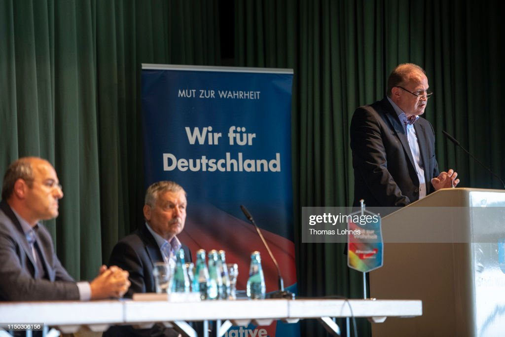 DEU: Alternative For Germany (AfD) Campaigns In European Elections