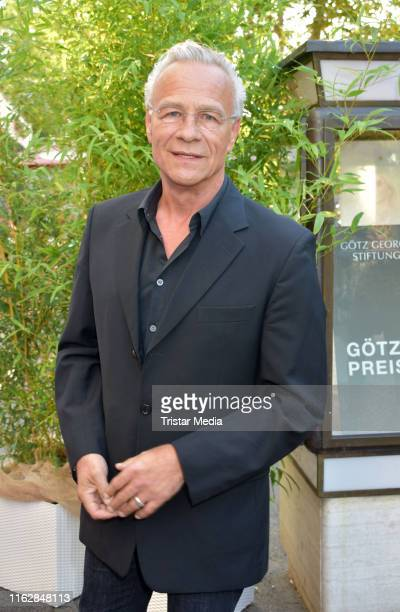 Klaus J. Behrendt attends the Goetz George Award at Astor Film Lounge on August 19, 2019 in Berlin, Germany.