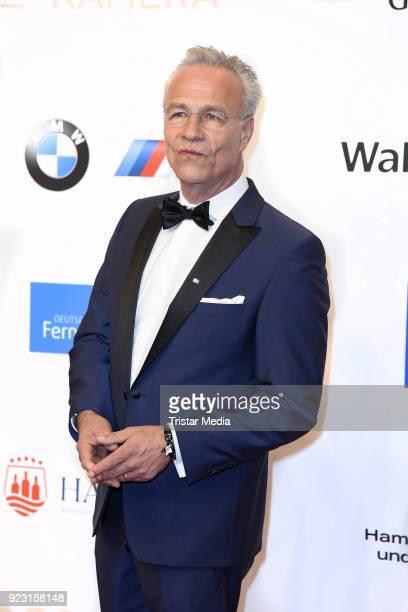 Klaus J Behrendt attends the Goldene Kamera on February 22 2018 in Hamburg Germany