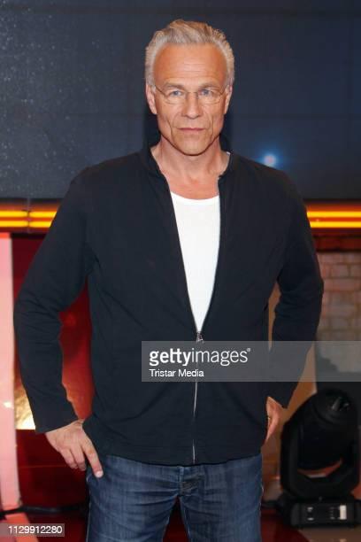 Klaus J Behrendt during the 'Wer weiss denn sowas XXL' TV show on March 11 2019 in Hamburg Germany