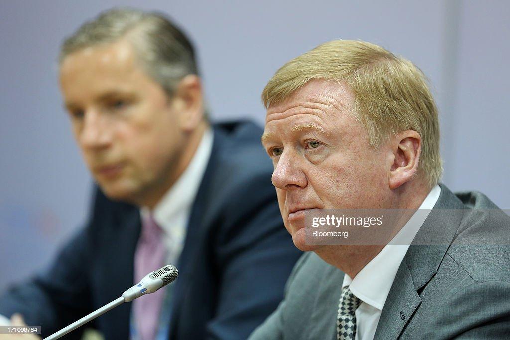 St Petersburg International Economic Forum 2013 Day Two