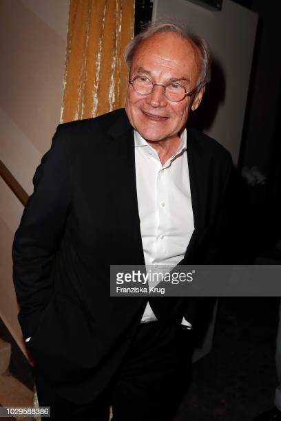 Klaus Maria Brandauer during the 100th birthday celebration gala for Artur Brauner at Zoo Palast on September 8, 2018 in Berlin, Germany. Artur...