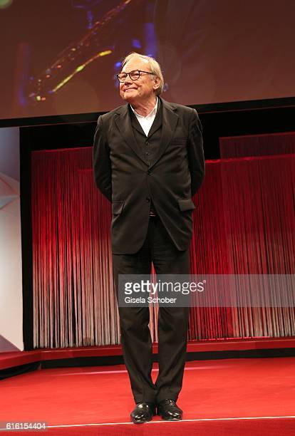 Klaus Maria Brandauer during the Hessian Film and Cinema Award at Alte Oper on October 21, 2016 in Frankfurt am Main, Germany.