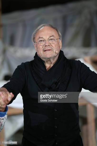 Klaus Maria Brandauer during the opening of the Nibelungen Theatre Festival at St Peter's Cathedral on July 12, 2019 in Worms, Germany. On the...