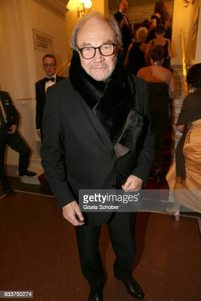 Klaus Maria Brandauer during the Semper Opera Ball 2017 at Semperoper on February 3 2017 in Dresden Germany