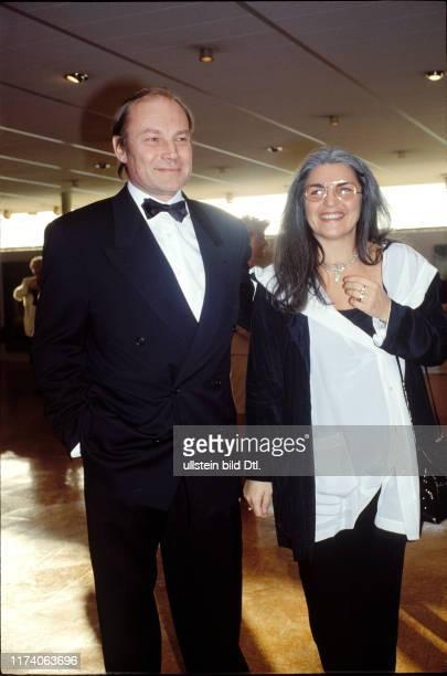 Klaus Maria Brandauer mit Ehefrau Karin, 1991