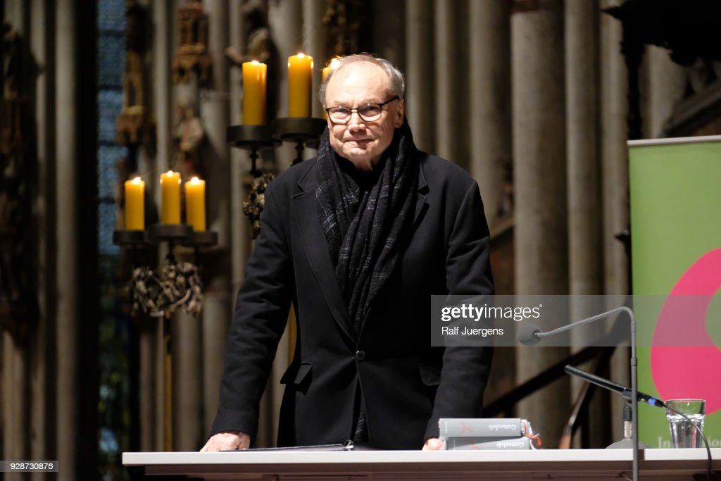 Klaus Maria Brandauer Reads Fyodor Dostoyevsky's 'Grand Inquisitor' At Cologne Cathedral