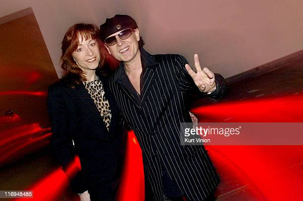 Klaus Meine and wife Gabi during 2004 German Echo Awards After Party at International Congress Center in Berlin Germany