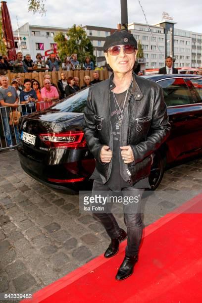 Klaus Meine singer of the band 'Scorpions' attends the 'Nacht der Legenden' at Schmidts Tivoli on September 3 2017 in Hamburg Germany