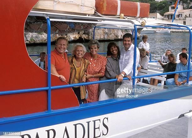 Klaus Sonnenschein Edith Hancke Grit Boettcher Brigitte Rokohl Gerd Baltus ZDFSerie Hotel Paradies Insel Mallorca Balearen Spanien Europa Folge 8...