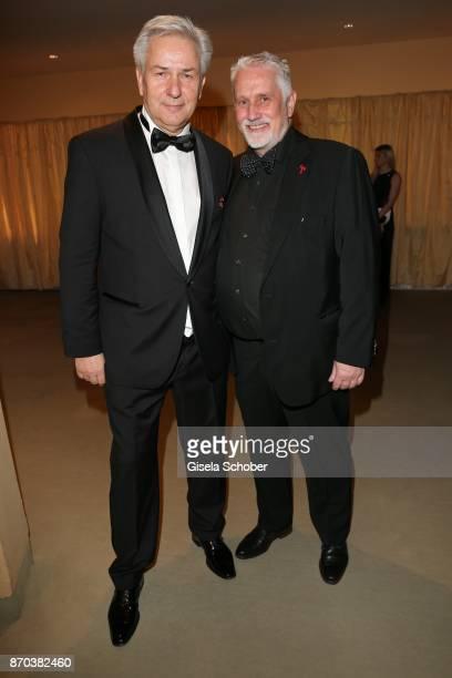 Klaus Wowereit and his partner Jörn Kubicki during the 24th Opera Gala benefit to Deutsche Aids-Stiftung at Deutsche Oper Berlin on November 4, 2017...