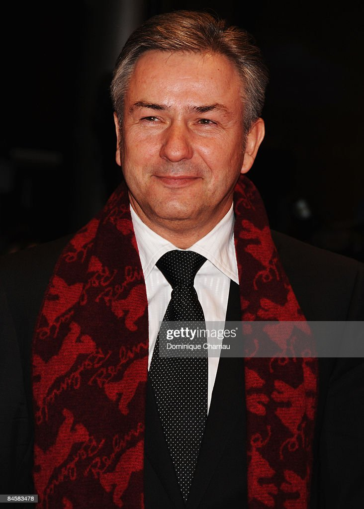 Klaus Wowereit attends the 'Be Kind Rewind' premiere as part of the 58th Berlinale Film Festival at the Berlinale Palast on February 16, 2008 in Berlin, Germany.