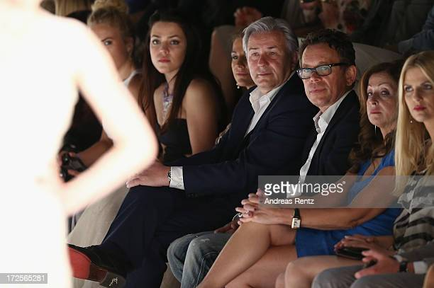 Klaus Wowereit Frank Mutters Vicky Leandros and Tanja Buelter attend the Guido  Maria Kretschmer show during 577e54e23d