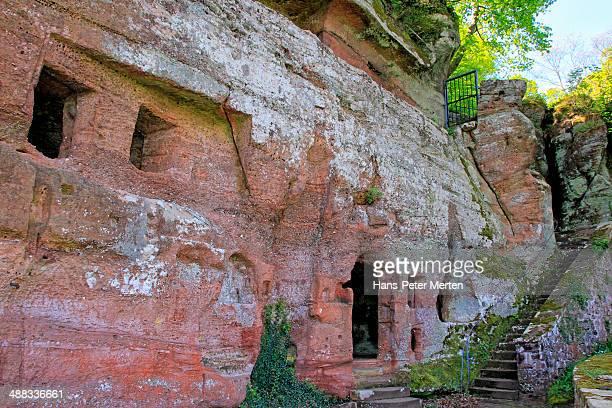 klause (hermitage), kastel-staadt, germany - ラインラント=プファルツ州 ストックフォトと画像