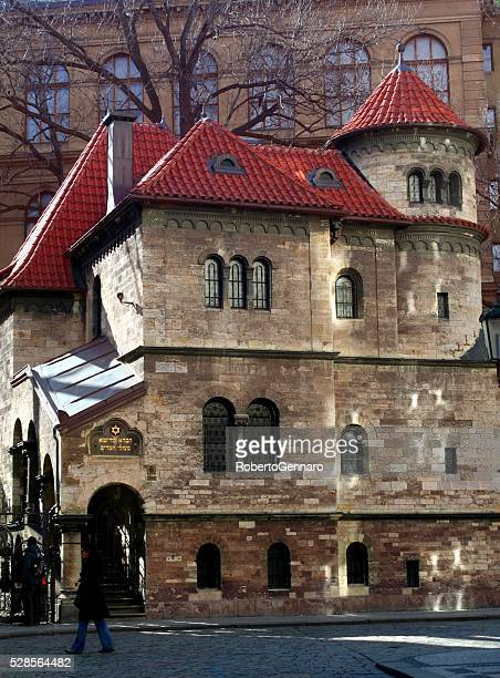 klausen synagogue josefov prague czech republic jewish museum - jewish museum stock pictures, royalty-free photos & images