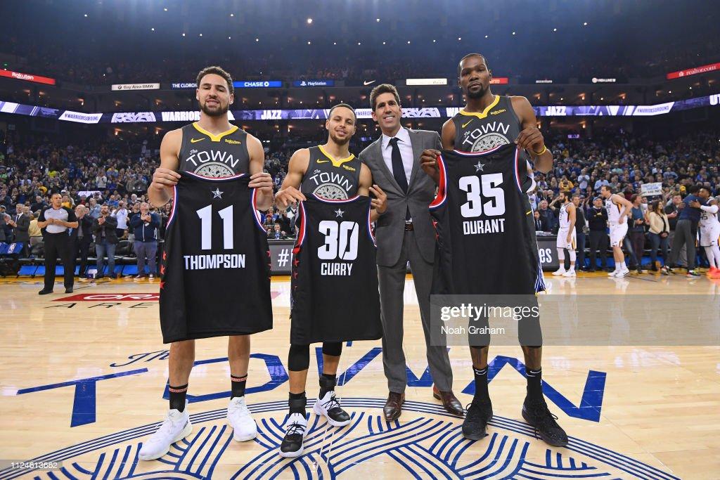 Utah Jazz v Golden State Warriors : News Photo
