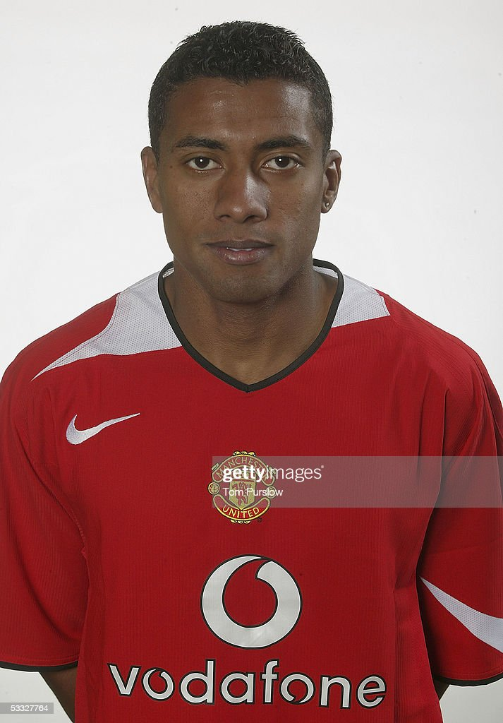 Kleberson of Manchester United poses during the annual club photocall at Carrington Training Ground on 5 August 2005 in Manchester, England.