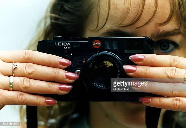 Kleinbild Meßsucher Systemkamera des Typs 'M6' von Leica 1996