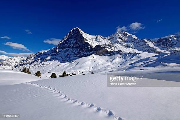 Kleine Scheidegg, Eiger, Mönch and Jungfrau