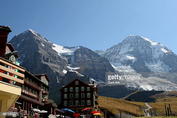CONTENT] Kleine Scheidegg is a high mountain pass below and between the Eiger and Lauberhorn peaks in the Bernese Oberland Switzerland It connects...