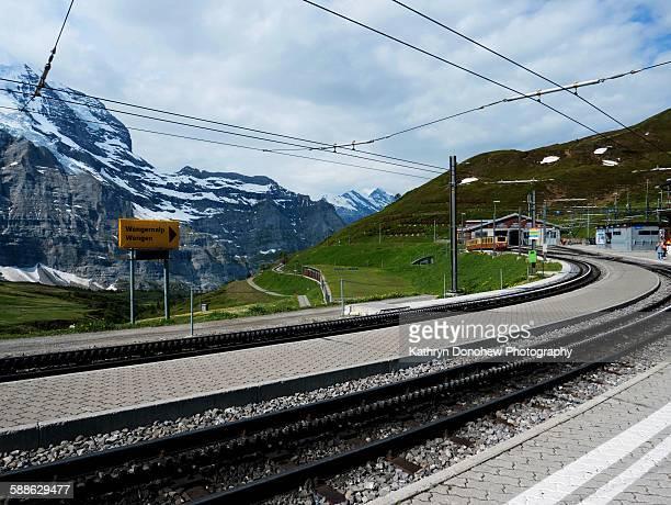 Kleine Scheidegg station- Switzerland