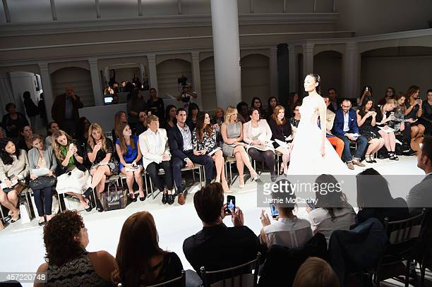 Kleinfeld Bridal Fashion Director Terry Hall television personalities Josh Murray and Andi Dorfman actress Alyshia Ochse QVC Hosts Courtney Cason and...