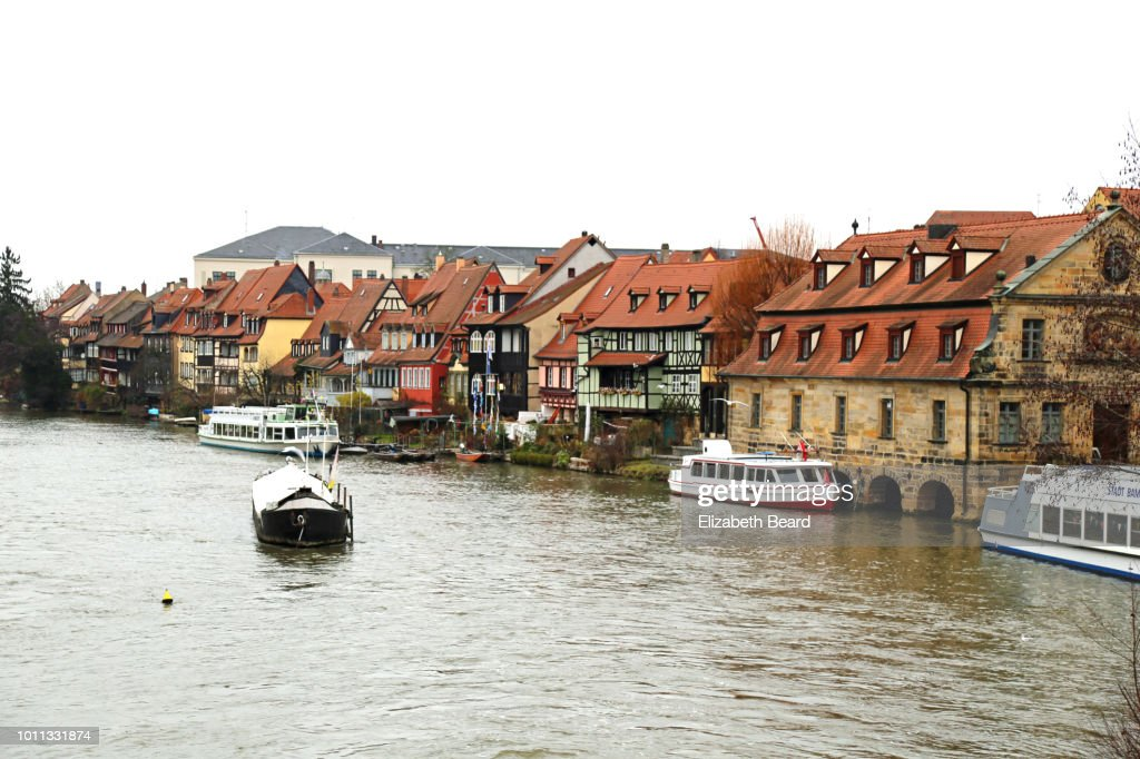 Klein-Venedig or Little Venice area of Bamberg, Germany : Stock Photo