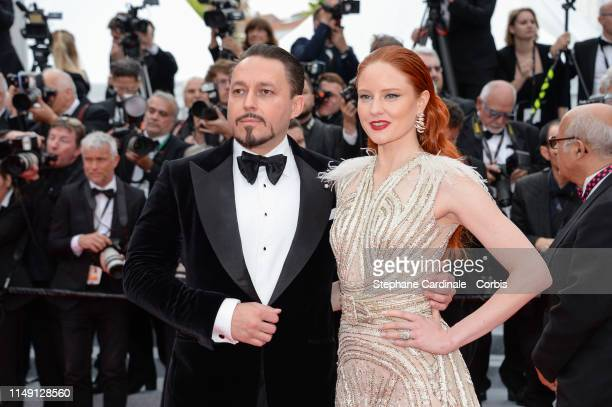 """Klemens Hallmann and Barbara Meier attend the opening ceremony and screening of """"The Dead Don't Die"""" during the 72nd annual Cannes Film Festival on..."""
