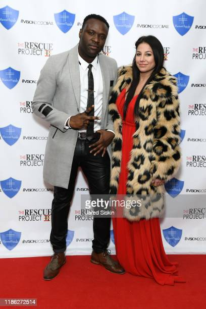 Kliffy and Marisa Hebert attend The 3rd Annual Vision 2020 Ball By The Rescue Project Haven Hands Inc Brought To You By AMAZZZING HUMANS at 4W43 on...