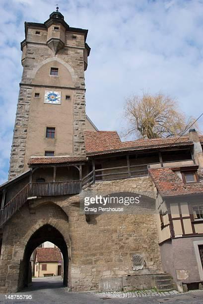 Klingentor (Klingen Gate), built in 1400.