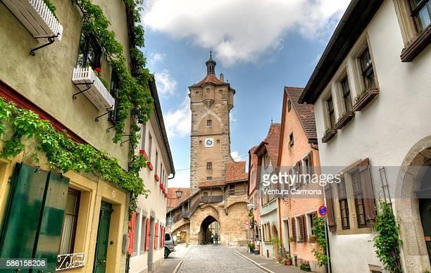 Klingentor (Klingen Gate) of Rothenburg ob der Tauber (Germany)