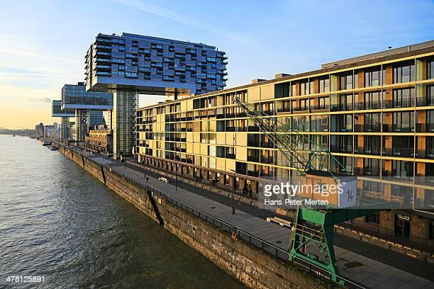 Köln, Rheinauhafen, modern architecture, Germany