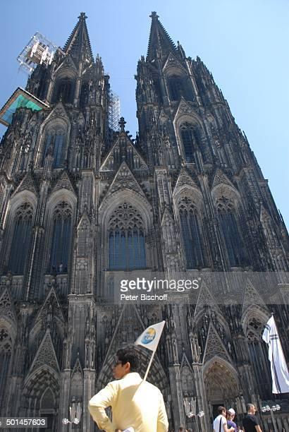 Kölner Dom Köln NordrheinWestfalen Deutschland Europa Gerüst Reise BB DIG PNr 1026/2011