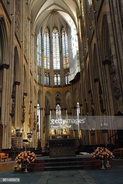 Kölner Dom Köln NordrheinWestfalen Deutschland Europa innen Reise BB DIG PNr 1026/2011