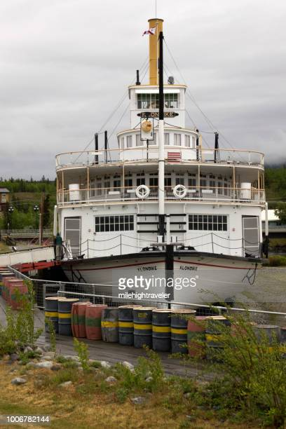 SS Klondike National Historic Site sternwheeler riverboat Whitehorse Yukon
