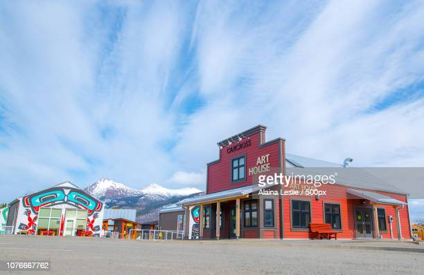 Klondike town of Carcross, Yukon
