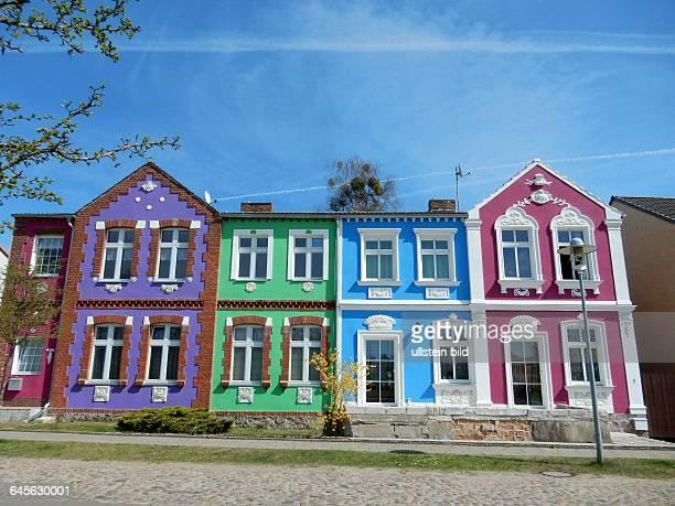 Klosterstrasse in Himmelpfort Fuer Familien ist der Platz am Weihnachtshaus mit seinen Wiesen und Badestellen an den Himmelpforter Seen ein beliebtes...