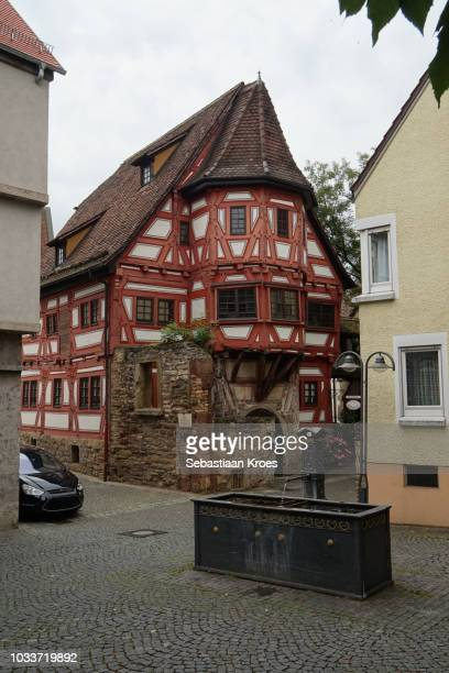 Klösterle Building, timbered House, Bad Cannstatt, Germany