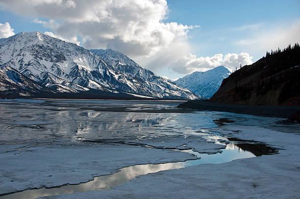 Kluane Lake.