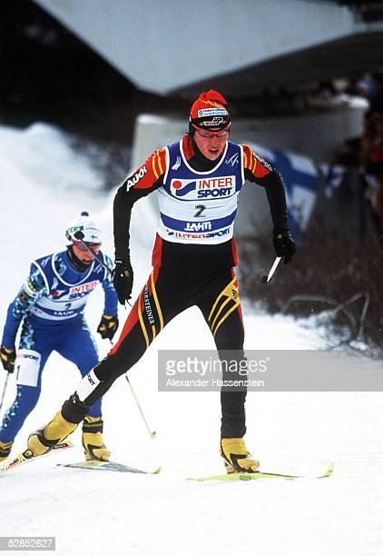 Km SPRINT/MAENNER in Lahti; Mario BAACKE/GER