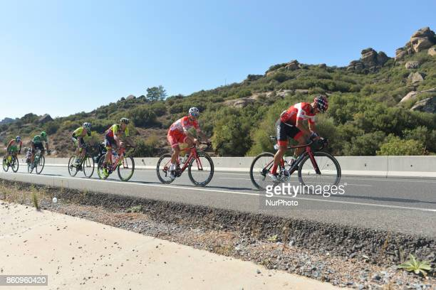 Km Turkish Airlines Marmaris to Selcuk stage of the 53rd Presidential Cycling Tour of Turkey 2017. On Friday, 13 October 2017, in Marmaris, Turkey.