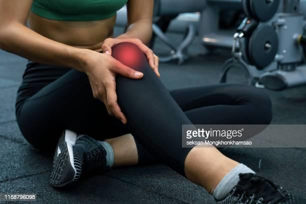 knee pain - 靭帯 ストックフォトと画像