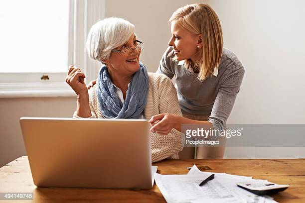 i knew you could do it! - grandma invoice stock pictures, royalty-free photos & images