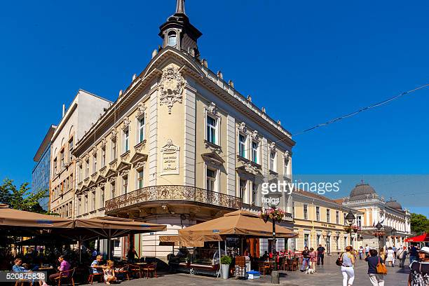 knez mihailova street in belgrade, serbia - belgrade serbia stock pictures, royalty-free photos & images