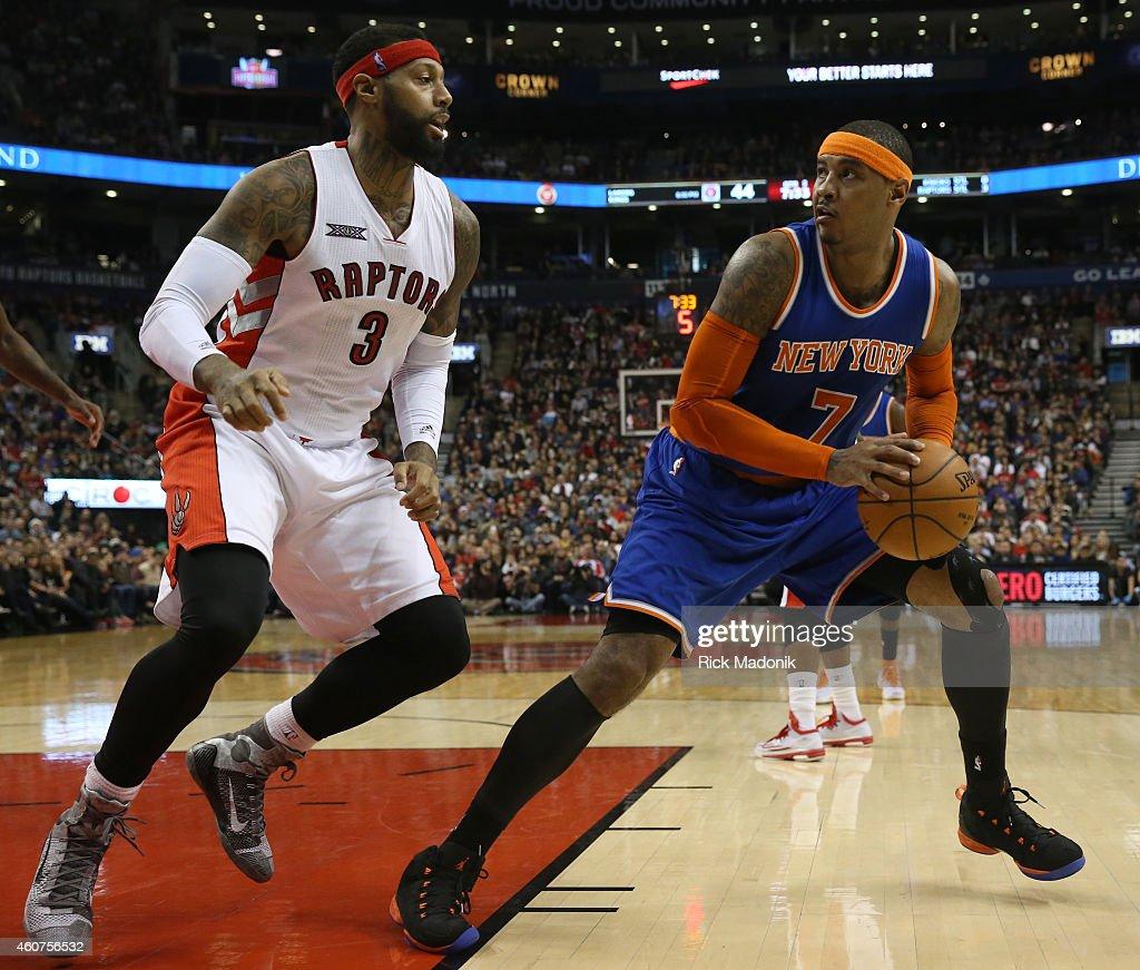 Toronto Raptors vs New York Knicks : News Photo
