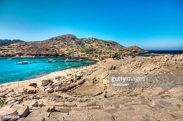 knidos, datca - peninsula stock pictures, royalty-free photos & images
